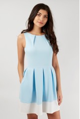CLOSET Blue Hackney Dress